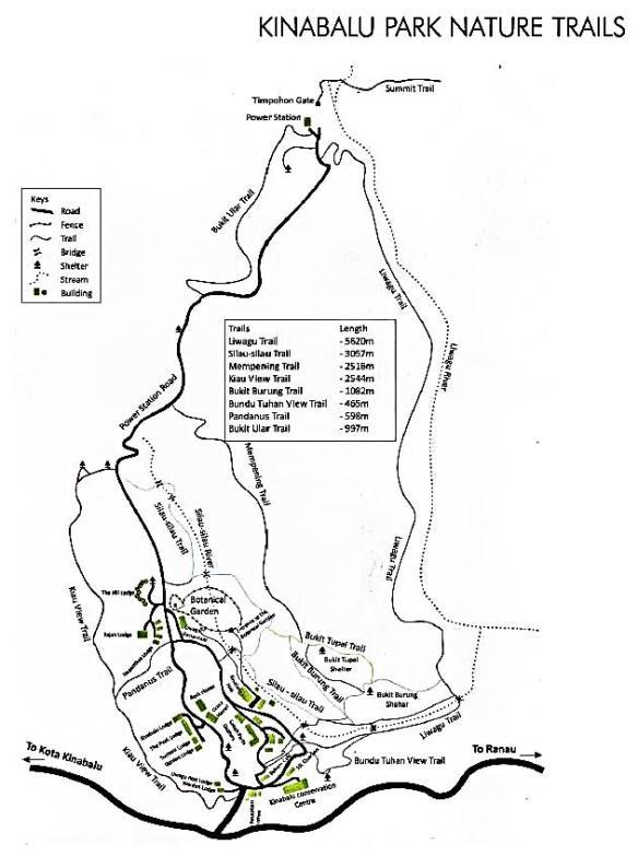 Mt. Kinabalu Trails